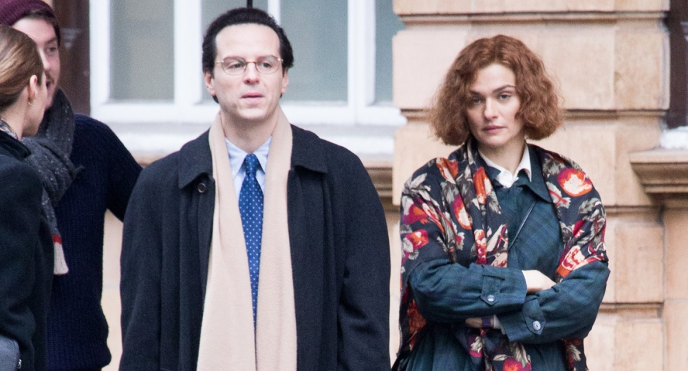 Rachel Weisz has a bad hair day on the set of Denial